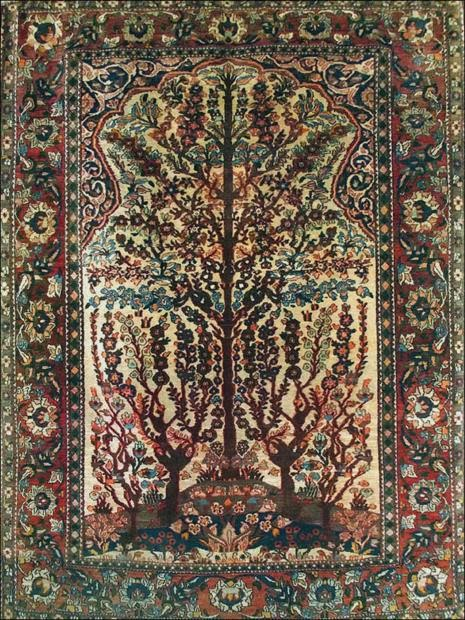 The Tree Of Life Persian Carpets Rugs And Textiles